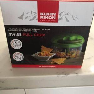 Brand New Swiss Pull Chop